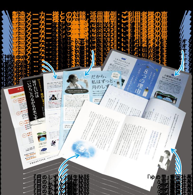 月のしずくが詳しくわかるカラーチラシや製造メーカー様との対談・活用事例・ご利用者様の声など資料を無料でお送りします!
